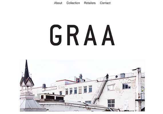 Graa Clothing +UX<sup>&reg;</sup>